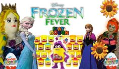 Frozen FEVER Play Doh Angry Birds Surprise Kinder Surprise Eggs Play Doh...