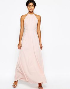 Image 1 of ASOS Open Back Maxi Dress