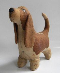 Шьем очаровательного текстильного пса
