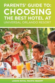 Most parents know a hotel can make or break a vacation experience. Here we let you know which Universal Orlando hotel is best for you and your family. Orlando Parks, Orlando Resorts, Park Resorts, Hotels And Resorts, Best Hotels, Universal Orlando Hotels, Universal Parks, Universal Studios Florida, Dive In Movie
