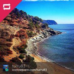 Moltes gràcies @turru83 per compartir aquest petit paradís amb nosaltres #aRoses #VisitRoses #inCostaBrava