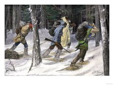 "1824. Snake County Expediition. The earliest fur trapping expeditions in the Snake Country of present-day Idaho and Montana were led by a Scotsman, Donald Mackenzie, on behalf of the North West Company.    Mackenzie's ""brigades"" of five dozen or so trappers and their families revolutionized the fur trade in the Americas, which were previously based on established trading posts in permanent locations.  http://www.outriderbooks.com/1824.html"