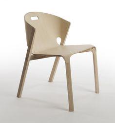 """zekarlos: """" Pelt Chair by Benjamin Hubert for De La Espada """""""