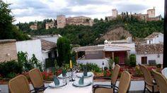 Un restaurante muy romántico en Granada... / A very romantic restaurant in Granada...