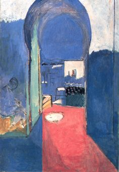 matisse THE CASBAH DOOR  116 x 80 cm.  Hermitage, Saint Petersburg  1912