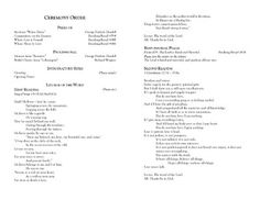 Free Catholic service wedding program templates available in Word ...