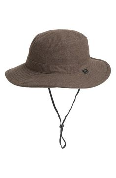 4ec9dbe38d2 Men s Obey  Sierra Boonie  Wool Blend Hat - Green Wool ...