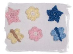 Ravelry: Appliques for baby items pattern by Mimi Alelis
