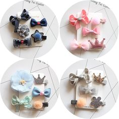 Cheap hair clip accessories, Buy Quality accessories fashion directly from China fashion accessories Suppliers: fashion hair clip accessories bows for child kawaii tiara headdress girls hairpins hair barrette ornaments headwear hairgrips Kawaii Accessories, Nail Accessories, Kids Hair Clips, Hair Barrettes, Headdress, Cute Kids, Hair Pins, Cool Things To Buy, Girl Outfits