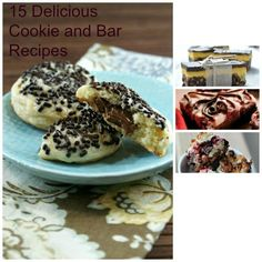 15 Delicious Cookie and Bar Recipes for the Holidays! @Foodie @FoodiebyGlam