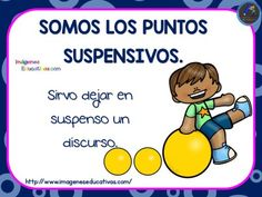 El uso de los signos de puntuación en imágenes ideal para primaria - Imagenes Educativas Spanish Grammar, Spanish Language, Portuguese Language, Dual Language Classroom, Kool Kids, School Items, Teacher Hacks, Home Schooling, Kids Education