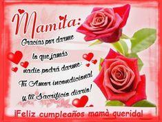 Mensajes De Cumpleanos A Mi Madre Rosas Feliz Cumpleanos
