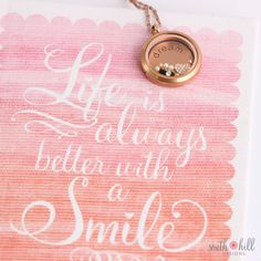 Life IS always better with a smile :) https://southhilldesigns.com/us/nonreferral/ProductList.aspx?wid=1&wcid=33&val=Locket