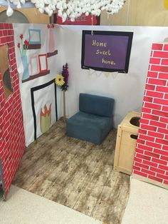 Eyfs home corner role play area