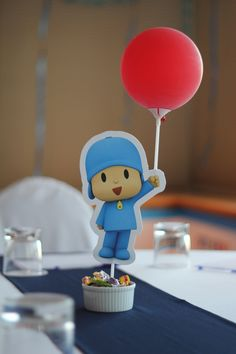 Lanzamiento Pocoyo en Chile! Oh so cute!!!!!!!