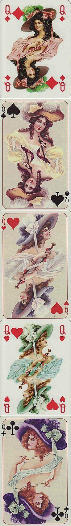 Игральные карты. Франция / Картинки для декупажа / PassionForum - мастер-классы по рукоделию