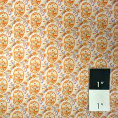 CLEARANCE Kaffe Fassett For Liberty Art Fabric Paisley Rustic White 1yd