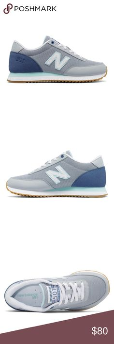 Ripple Sole 501 New Balance Brand new! 501 Ripple Sole. Color: Silver Mink with Deep Porcelain Blue & Ozone Blue Glow. Width: B (standard) in original box New Balance Shoes Sneakers