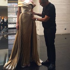 Mr Elie Saab at work