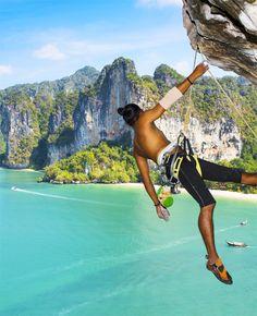 Krabi Rock Climbing, Railay Beach - Thailand