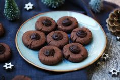 Fraeulein Meer backt Schokoladen-Haselnuss-Plätzchen Kakao, Sweets, Cookies, Desserts, Christmas Recipes, Food, Chocolate Hazelnut, Sheet Pan, Kuchen