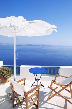 GREECE CHANNEL |  A wonderful place to sit and relax and enjoy the view....
