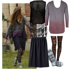 """""""Violet Harmon"""" by claire-mulraney on Polyvore"""