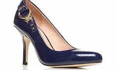 Moda In Pelle High Patent Court A perfect court that goes with everything. Whether you are in the office or having an evening out, these high shoes in patent detailing with a gold buckle to the back will compliment any outfit.Moda I http://www.comparestoreprices.co.uk/womens-shoes/moda-in-pelle-high-patent-court.asp