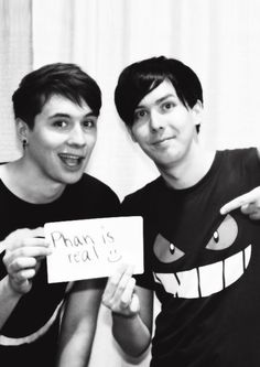 I already know Phan is real but... if they really posted this I'm going to cry :')