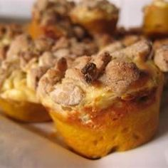 """Pumpkin Cream Cheese Muffins I """"Great recipe! Muffins are """"to die for"""". Will make perfect gifs this fall."""""""