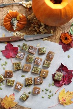 Salted Pumpkin Caramels recipe from PBS Food