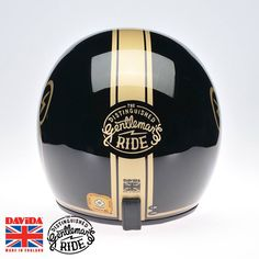 The VERY limited edition handmade Davida UK Ltd and The Distinguished Gentleman's Ride Highest fundraiser lids. 3 Lids. 3 highest global fundraisers. Winners will be calculated at 00:00 (Australian Eastern Standard Time) on Sunday the 12th of October, 2014. (via The Distinguished Gentleman's Ride)