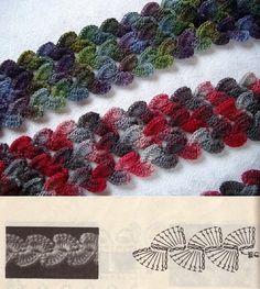 #_Crochet Braid Point Tutorial