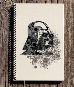 Star Wars Inspired Notebook - Darth Vader Notebook - Star Wars Inspired Journal