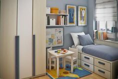 Interior Designs of Teen Room by Sergi Mengot   Cuded