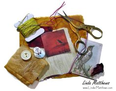 Fragments – stitching together the story of our lives | Linda Matthews: Textile Art & Design