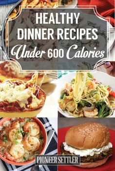 Want to try some healthy dinner recipes under 600 calories? If you want to start eating healthier this new year, then these healthy dinner recipes under 600 calories are a must-try! 600 Calorie Dinner, 600 Calorie Meals, No Calorie Foods, Low Calorie Recipes, Healthy Dinner Recipes, Diet Recipes, Cooking Recipes, Dinners Under 500 Calories, Healthy Options