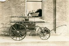 Hamilton's first fire engine purchased in Hamilton Pictures, Firefighter Paramedic, Fire Fire, Fire Equipment, Hamilton Ontario, Fire Apparatus, Historical Images, Horse Drawn, Emergency Vehicles