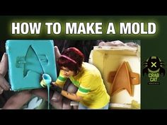 HOW-TO MAKE A MOLD: Try This At Home! with Crabcat Industries