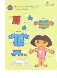 Miss Missy Paper Dolls: Dora the Explorer