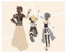 kingdom hearts birth by sleep Terra Ven and Aqua