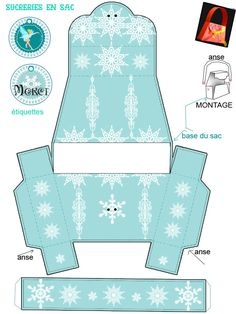 "THEME ""FEE DES NEIGES"" mini theme - 1 et 2 et 3 DOUDOUS * PATRONS* PATTERNS * GABARITS FETE A THEMES POUR ENFANTS"