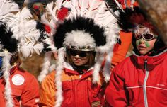 Indianerspiele in Nauders Winter Hats, Fashion, Native Americans, Kids, Moda, La Mode, Fasion, Fashion Models, Trendy Fashion