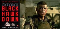 "23 Books You Need To Read Before Watching The Movie Versions - BLACK HAWK DOWN by Mark Bowden -- ""This is a heart-pounding adrenaline rush of a story that's sure to keep you up all night reading. Based on true events, the novel recalls the travesty of the 1993 Somalia mission, where the U.S. engaged in a 15-hour battle with brutal Somali militia. The intensive research that went into this novel makes it truly gripping."""