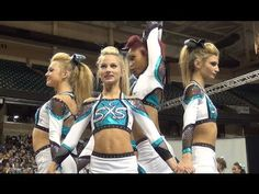 SSX Cheer Extreme Raleigh Showcase SHARK BITE - YouTube