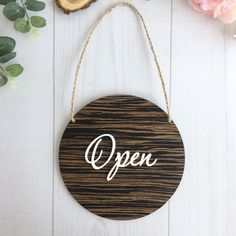 Good Morning Quotes Discover Open Closed sign Business sign Storefront sign Shop open sign Wooden sign for shop Boutique sign Now Open Sign, We Are Open Sign, Open Signs, Open Close Sign, Closed Signs, Open For Business Sign, Business Signs, Business Quotes, Money Box Wedding