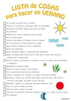 Lista de cosas que hacer en verano para niños Toddler School, Toddler Art, Summer Bucket Lists, Life Motivation, Summer Activities, Primary Activities, Summer Fun, Things To Do, Summer Things