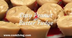 Easy Peanut Butter Fudge     Fast and easy Fudge Recipe perfect for the Holidays!    Don't miss out, click below to grab this rec...