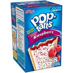 PopTarts Frosted Raspberry 8Count Tarts 147 ounces Pack of 12 -- See this great product. Note: It's an affiliate link to Amazon.