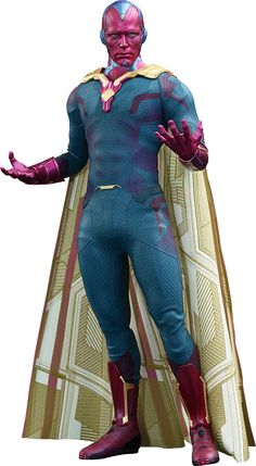 BLOG DOS BRINQUEDOS: Vision Sixth Scale Figure by Hot Toys